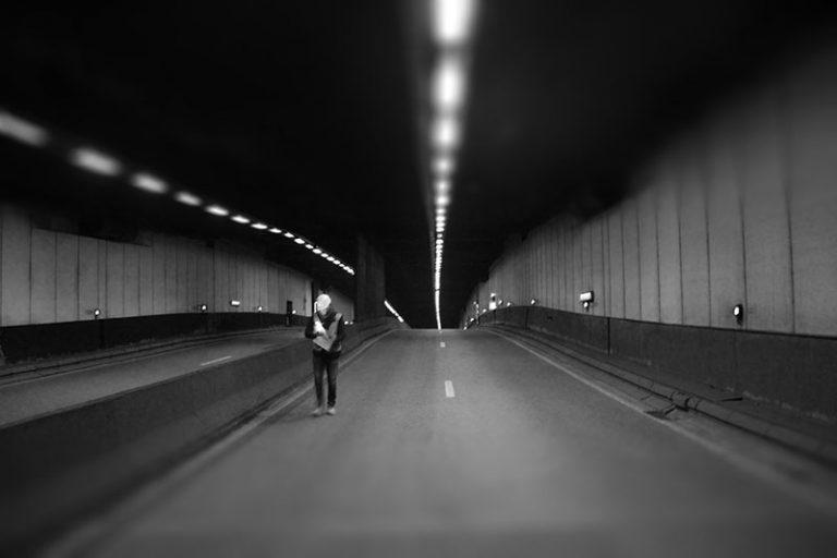 TweetCon in the Rogier Tunnel in Brussels